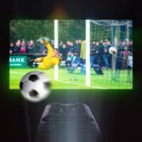 máy chiếu mini xem bóng đá