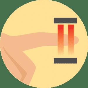 machine-1 máy đo nồng độ oxy kẹp ngón tay